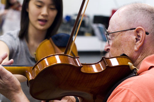 Is it too late for adults to learn the violin?