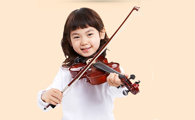 How quickly can kids learn the violin?